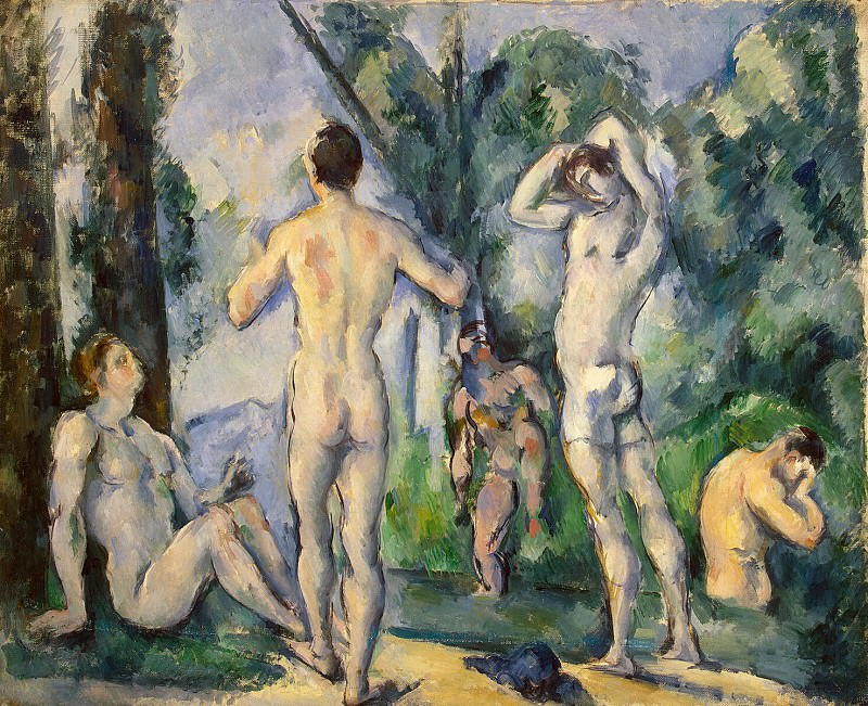 Cezanne, Paul. Bathers. Hermitage ~ part 11