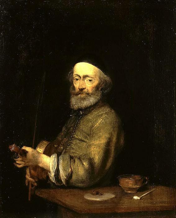 Terborch, Gerard. Violinist. Hermitage ~ part 11
