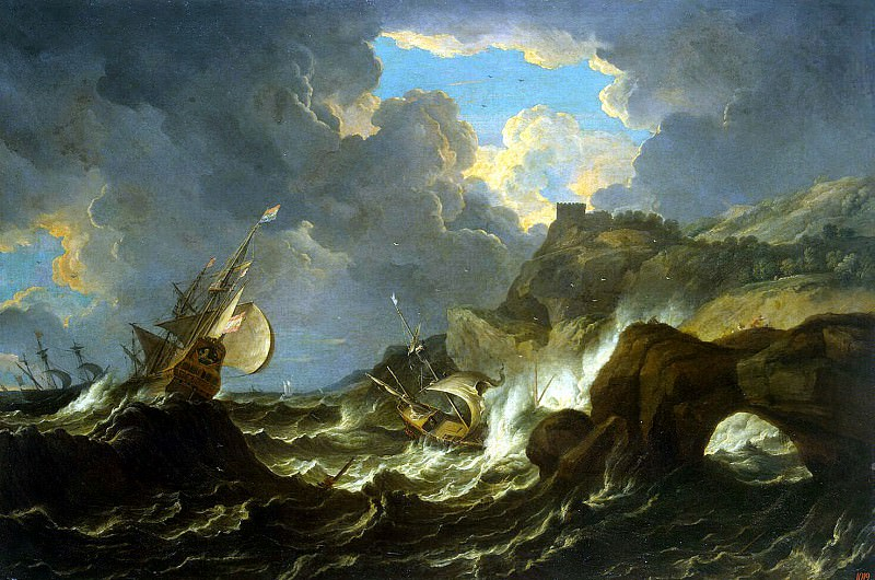 Tempesta Pietro. Storm at Sea. Hermitage ~ part 11
