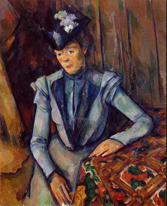 Cezanne, Paul. Lady in Blue. Hermitage ~ part 11