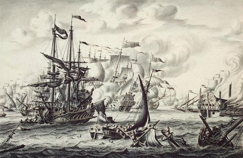 Salm, Adrian van der. Sea battle. Hermitage ~ part 11