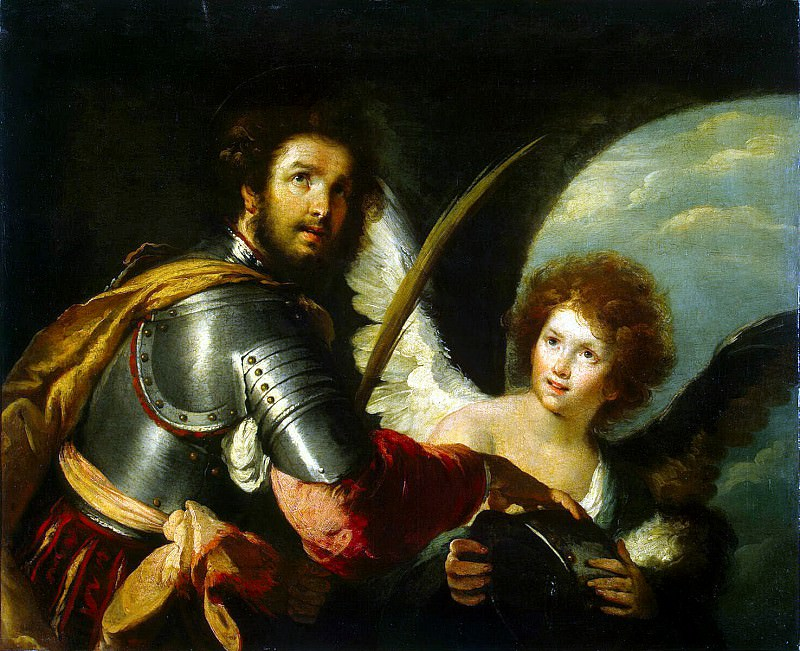 Строцци, Бернардо - Св. Секунд и ангел. Эрмитаж ~ часть 11