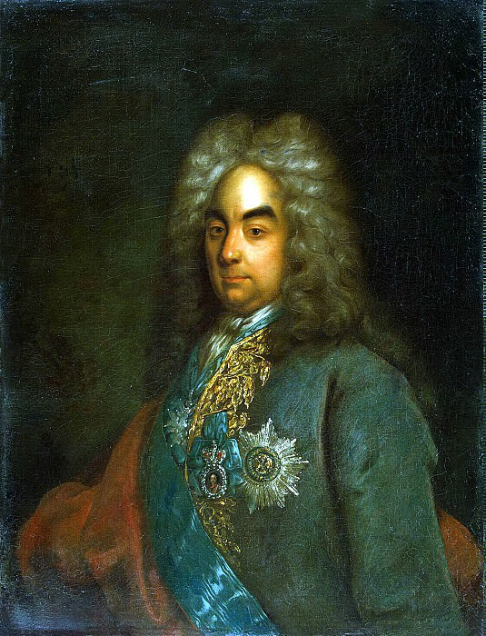 Tannauer, Johann Gottfried. Portrait of a Presidents Board of Commerce Count Pyotr Andreyevich Tolstoy. Hermitage ~ part 11