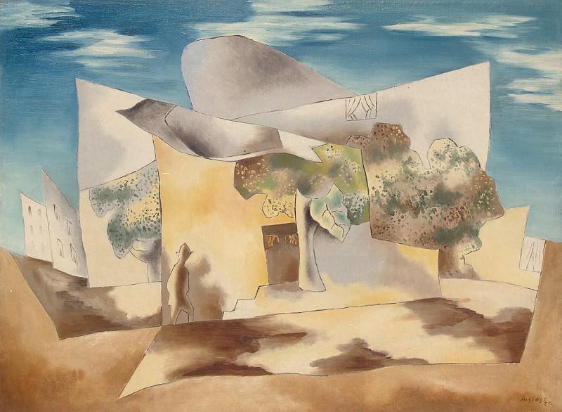 Syurvazh, Leopold. Landscape. Hermitage ~ part 11