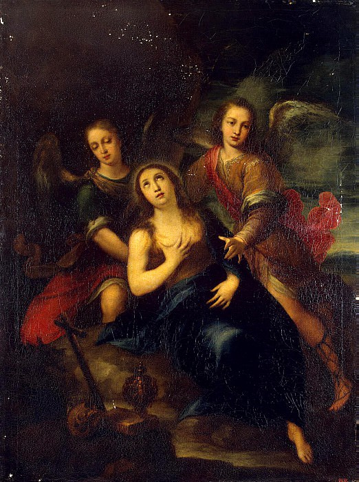 Solis, Francisco de. Mary Magdalene and Angels. Hermitage ~ part 11