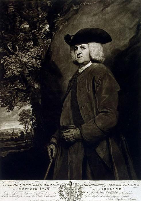 Smith, John Raphael. Portrait of Richard Robinson. Hermitage ~ part 11