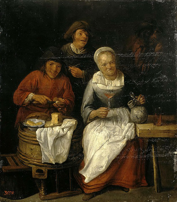 Tilborh, Gillis van. Peasants for food. Hermitage ~ part 11