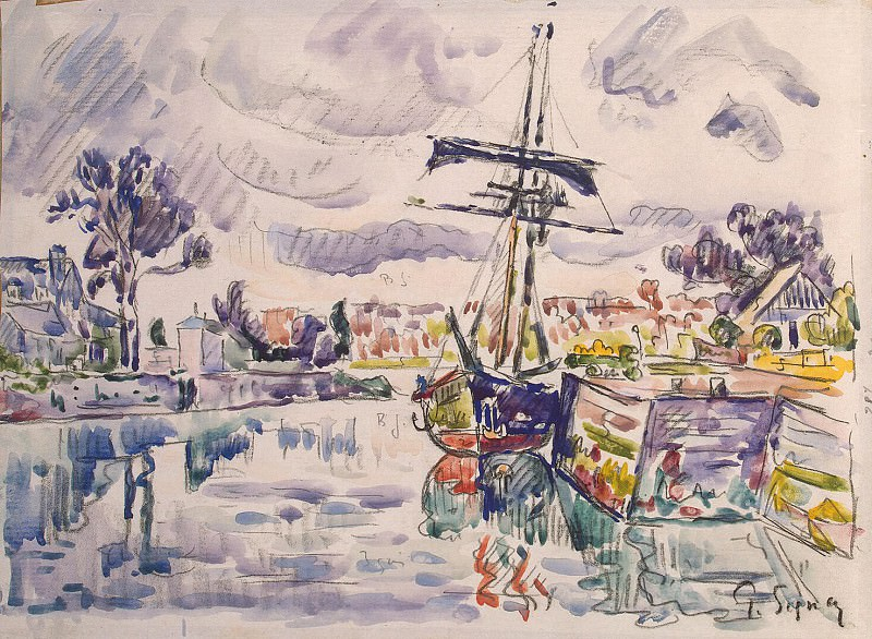Signac, Paul. Sailing berth. Hermitage ~ part 11