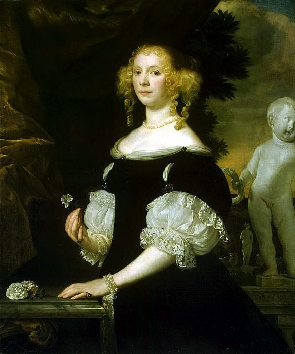 Tempel, Abraham van den. Portrait of a Woman. Hermitage ~ part 11