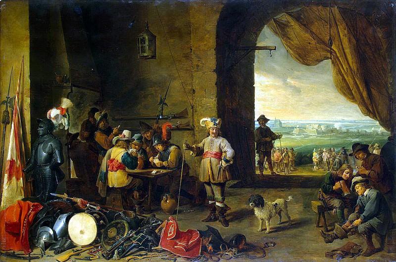 Teniers, David the Younger. Karaulnaya. Hermitage ~ part 11