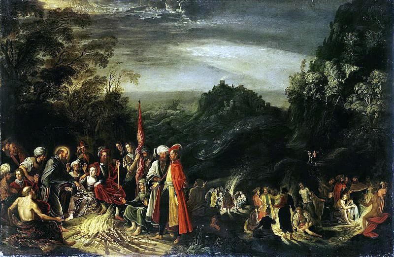 Teniers, David Elder. Miracle of St. Paul on Malta. Hermitage ~ part 11