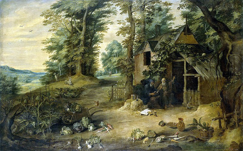 Teniers, David the Younger. Landscape. Hermitage ~ part 11