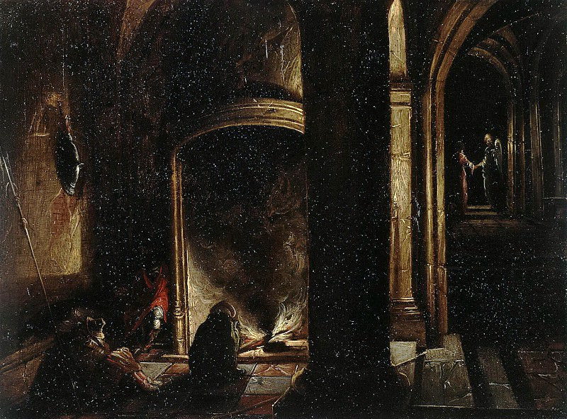 Stenveyk, Hendrick van the Younger. Liberation of the Apostle Peter from prison. Hermitage ~ part 11