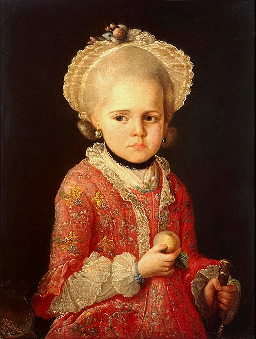 Sergeev, Matthew. Portrait of a Girl. Hermitage ~ part 11