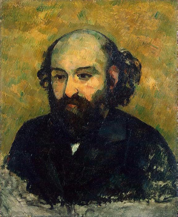 Cezanne, Paul. Self-portrait. Hermitage ~ part 11