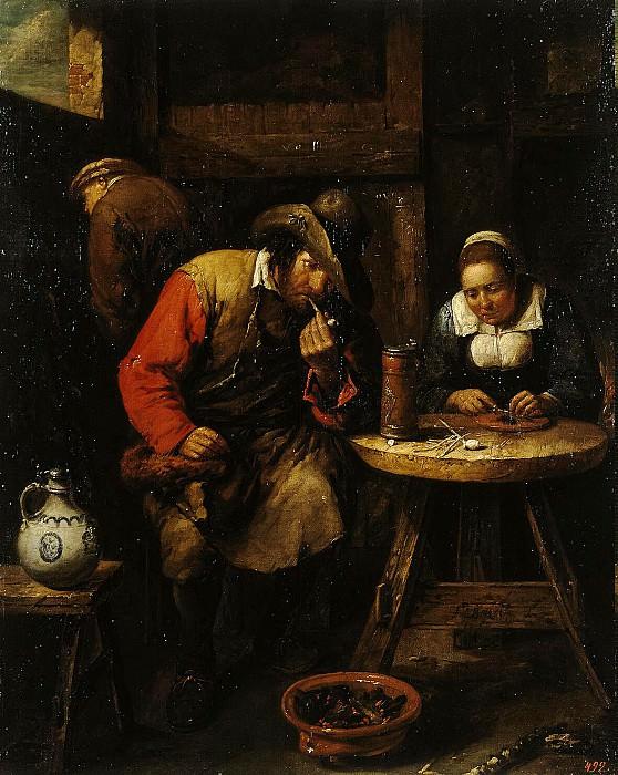 Tilborh, Gillis van. Smoker. Hermitage ~ part 11