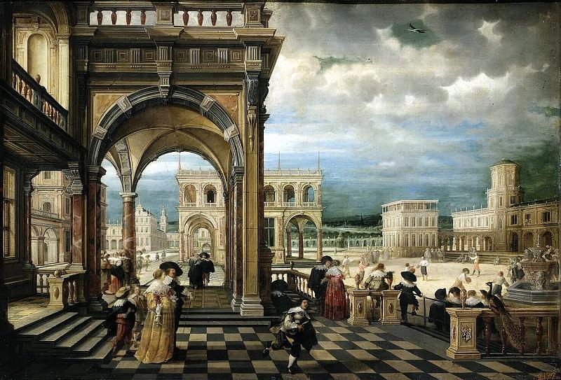 Stenveyk, Hendrick van the Younger. Italiano Palace. Hermitage ~ part 11