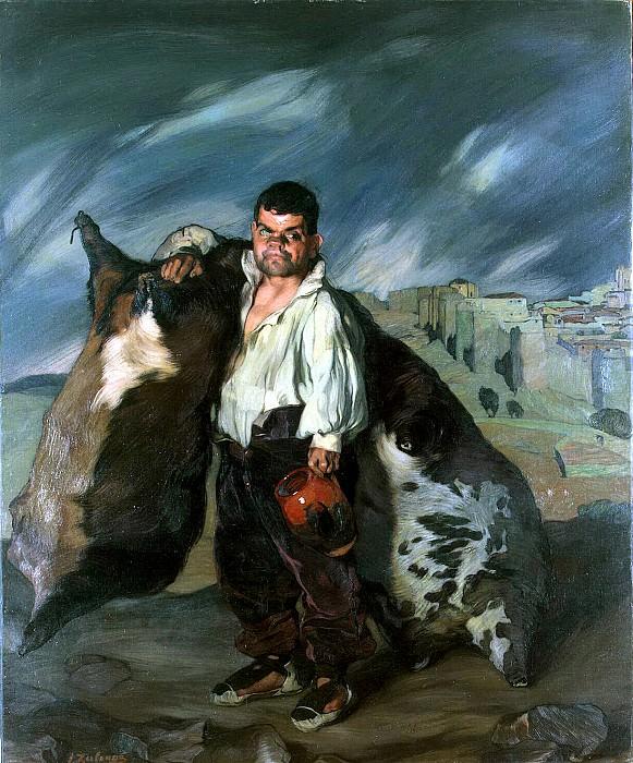 Zuloaga, Ignacio. Dwarf Gregorio. Hermitage ~ part 11