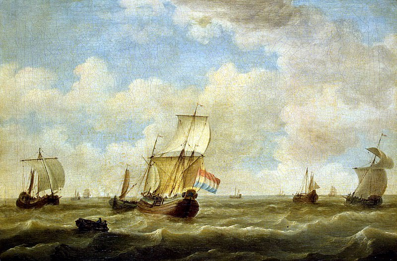 Silo, Adam. Sailing ships during the unrest. Hermitage ~ part 11