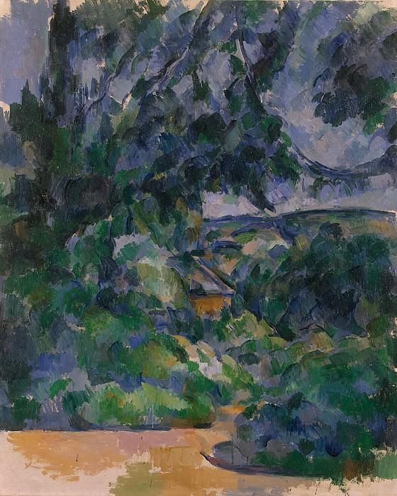Cezanne, Paul. Blue landscape. Hermitage ~ part 11