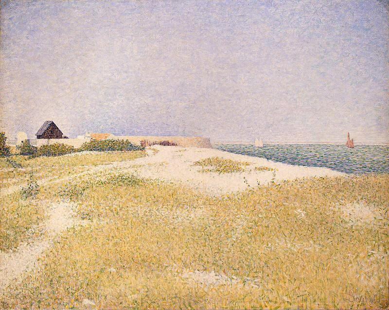 Seurat, Georges-Pierre. Fort Sanson, Grankan. Hermitage ~ part 11