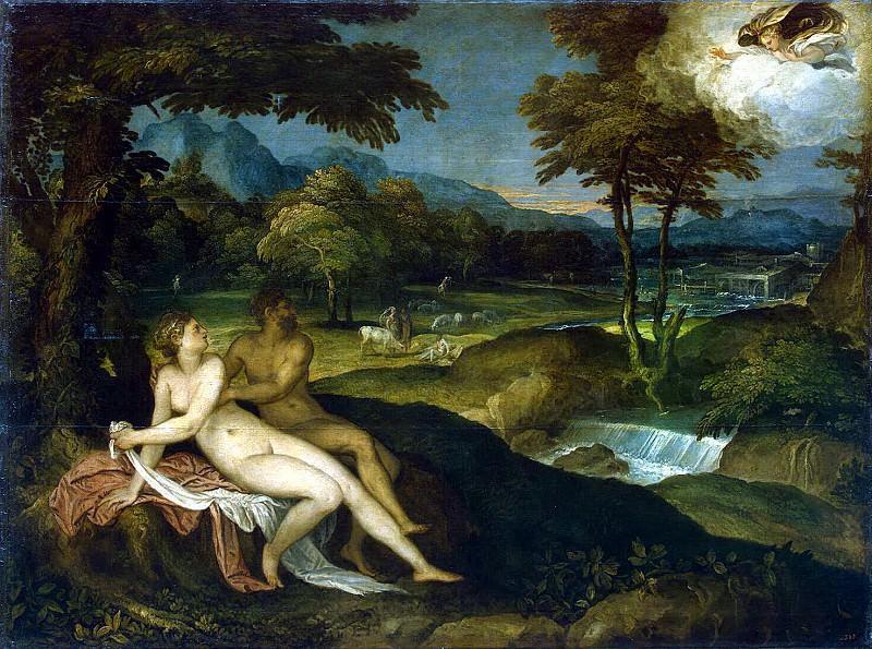 Sustris, Lambert. Jupiter and Io. Hermitage ~ part 11