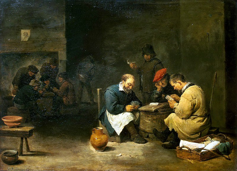 Teniers, David the Younger. A fast set. Hermitage ~ part 11