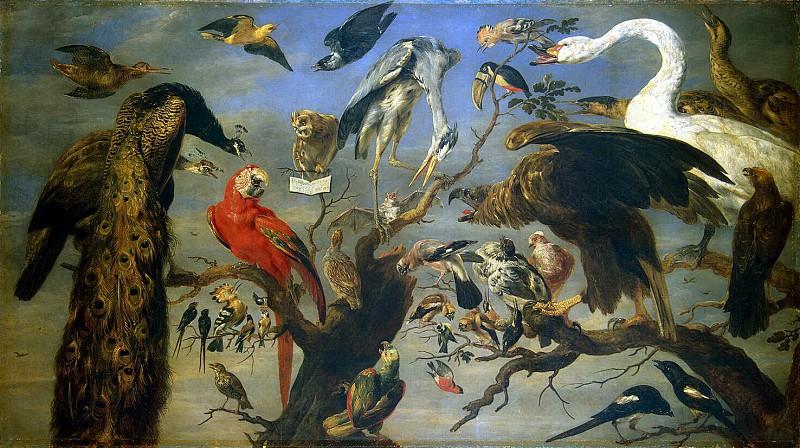 Snyders, Frans. Avian concert. Hermitage ~ part 11