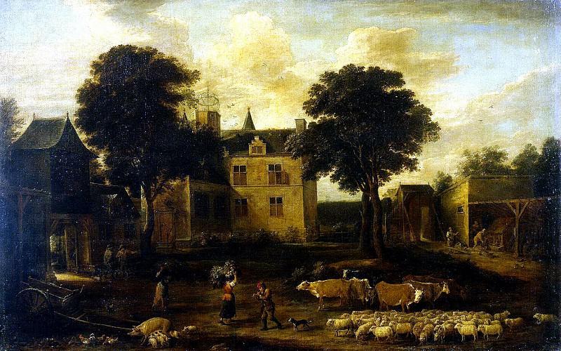Teniers, David the Younger. Yard Dreytorenskogo Castle. Hermitage ~ part 11
