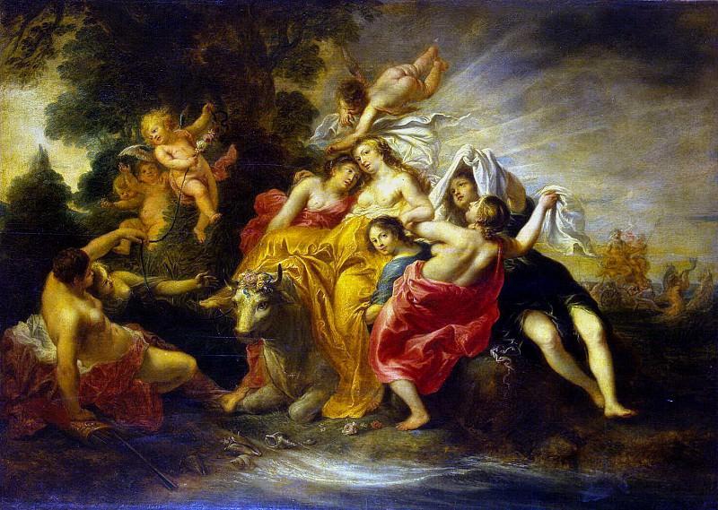 Shyut, Cornelis. Rape of Europa. Hermitage ~ part 11