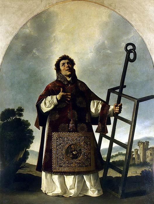 Zurbaran, Francisco. St Lawrence. Hermitage ~ part 11