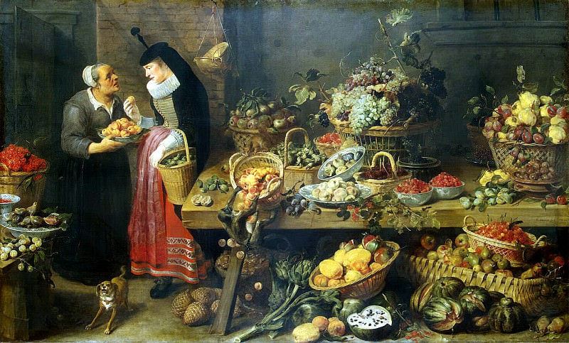 Snyders, Frans. Greengrocery. Hermitage ~ part 11