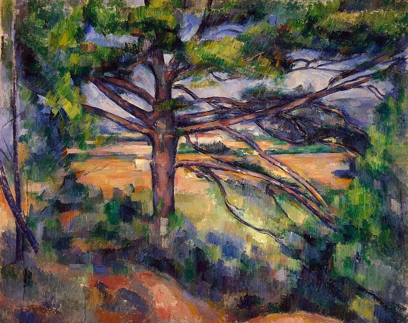 Cezanne, Paul. A large pine tree near Aix. Hermitage ~ part 11