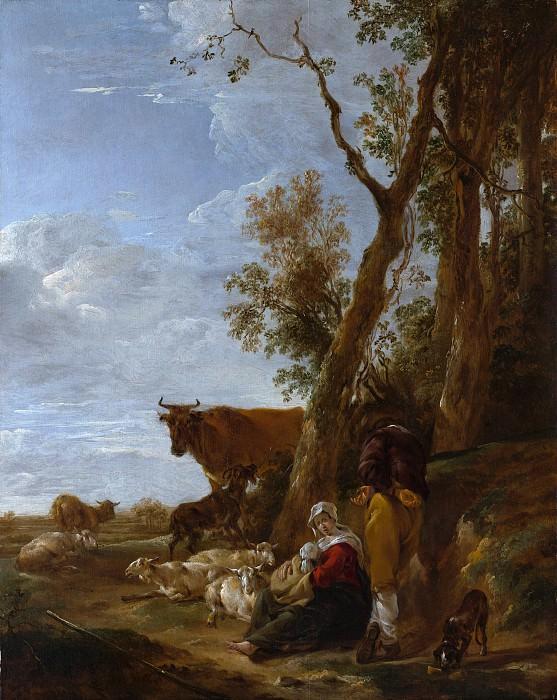 Nicolaes Berchem - Rest. Metropolitan Museum: part 3