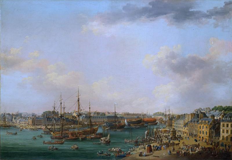 Henri Joseph van Blarenberghe - The Outer Harbor of Brest. Metropolitan Museum: part 3