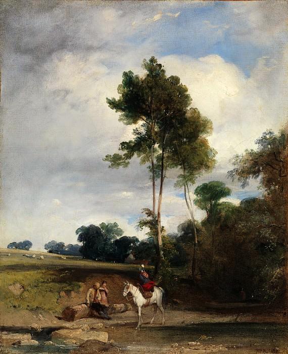 Richard Parkes Bonington - Roadside Halt. Metropolitan Museum: part 3