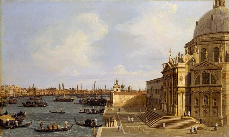 Canaletto (Italian, Venice 1697–1768 Venice) - Venice: Santa Maria della Salute. Metropolitan Museum: part 3
