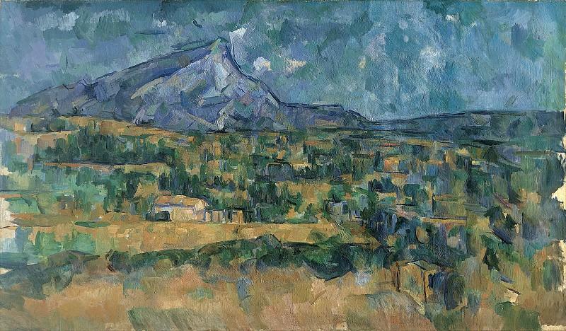 Paul Cézanne - Mont Sainte-Victoire. Metropolitan Museum: part 3