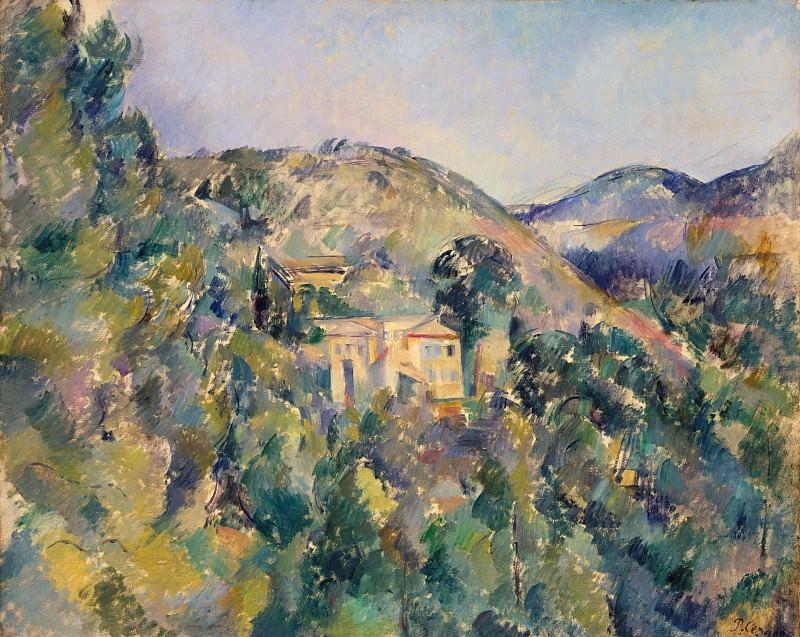 Paul Cézanne - View of the Domaine Saint-Joseph. Metropolitan Museum: part 3