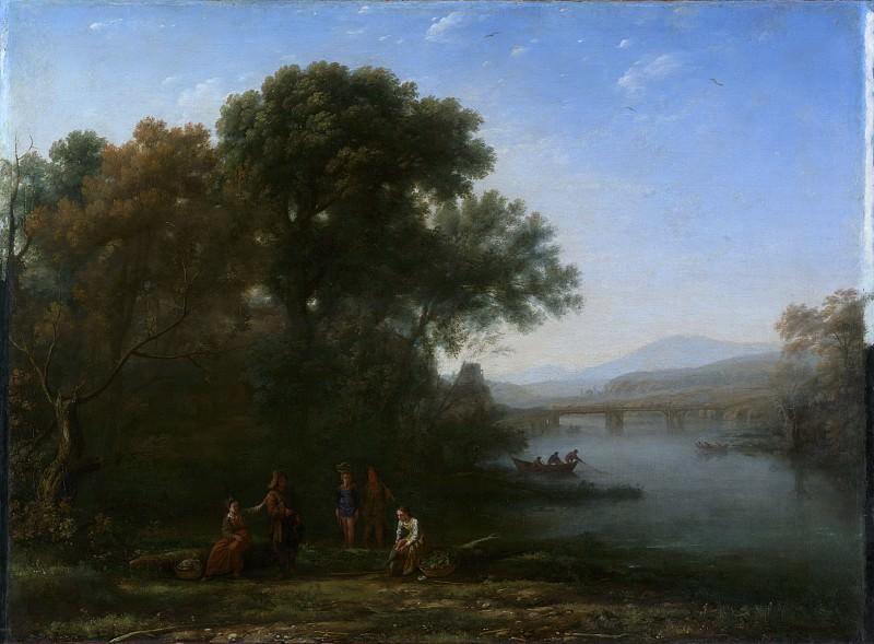 Claude Lorrain (French, Chamagne 1604/5?–1682 Rome) - The Ford. Metropolitan Museum: part 3