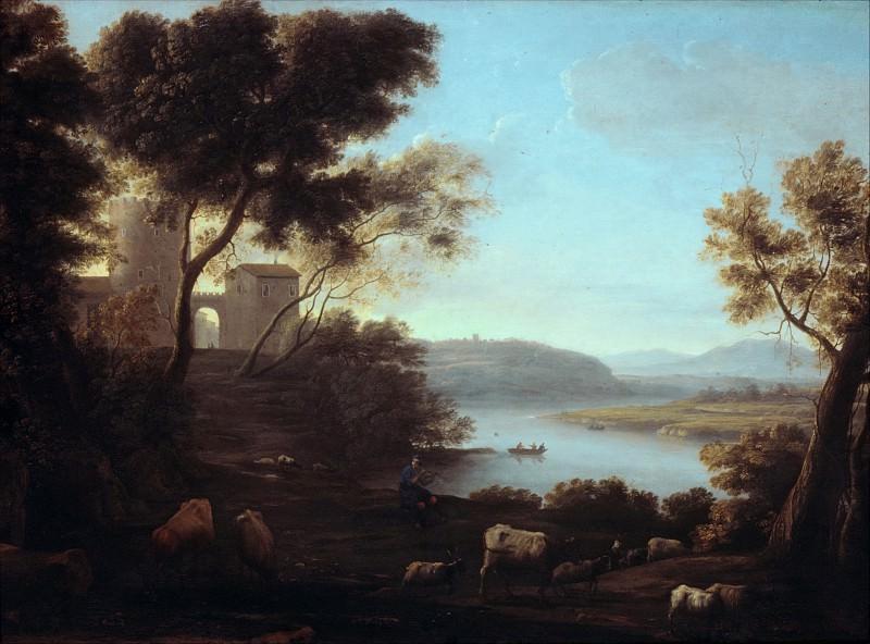 Claude Lorrain (French, Chamagne 1604/5?–1682 Rome) - Pastoral Landscape: The Roman Campagna. Metropolitan Museum: part 3