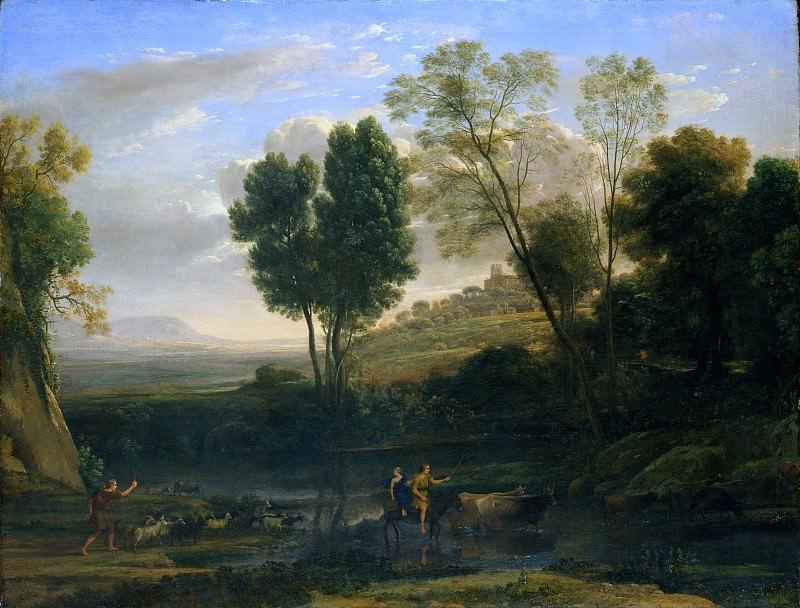 Клод Лоррен (Франция, Шамань 1604/5-1682 Рим) - Восход солнца. Музей Метрополитен: часть 3