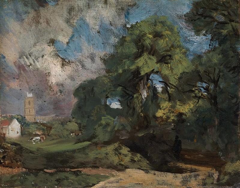 John Constable - Stoke-by-Nayland. Metropolitan Museum: part 3