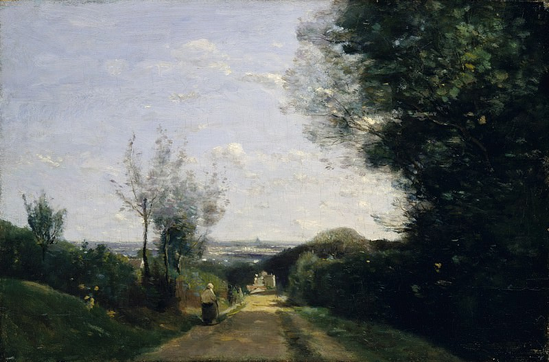 Camille Corot - The Environs of Paris. Metropolitan Museum: part 3