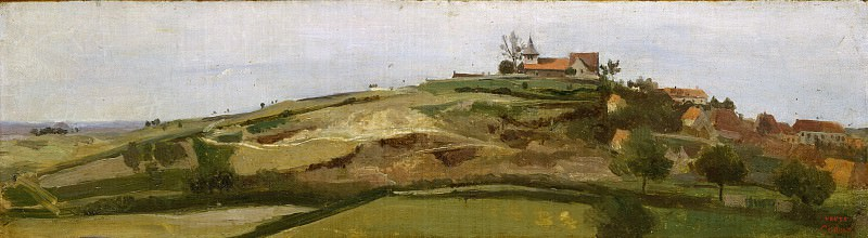 Camille Corot - View of Lormes. Metropolitan Museum: part 3
