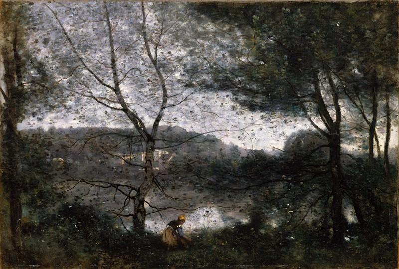 Camille Corot - Ville-d'Avray. Metropolitan Museum: part 3