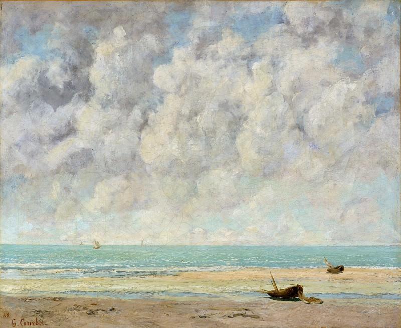 Gustave Courbet - The Calm Sea. Metropolitan Museum: part 3