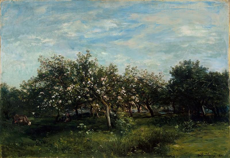 Charles-François Daubigny - Apple Blossoms. Metropolitan Museum: part 3