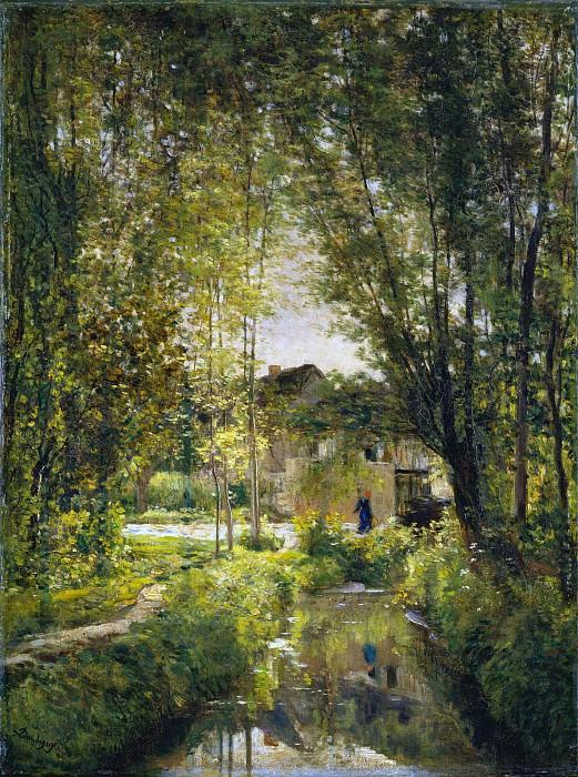 Charles-François Daubigny - Landscape with a Sunlit Stream. Metropolitan Museum: part 3