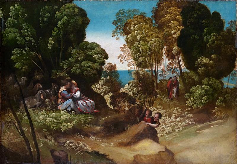Dosso Dossi (Italian, Tramuschio ca. 1486–1541/42 Ferrara) - The Three Ages of Man. Metropolitan Museum: part 3